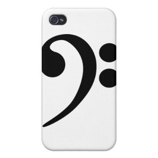 Bass Clef Case For iPhone 4
