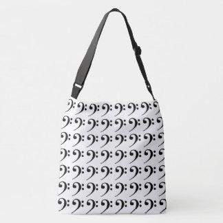 Bass Clef Crossbody Bag