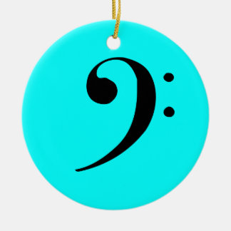 Bass Clef Ornament