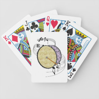 Bass Drum Bicycle Playing Cards