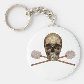 Bass Drum Pirate Key Ring