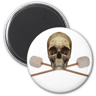 Bass Drum Pirate Fridge Magnet