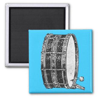 Bass Drum Square Magnet