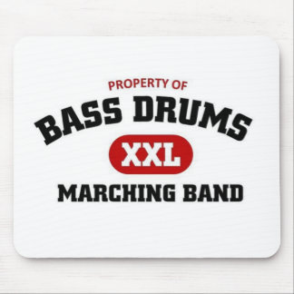 Bass Drums Marching Band Mouse Pads