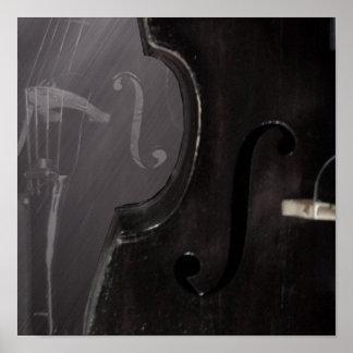 Bass f hole - Print