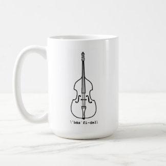 Bass Fiddle Mug