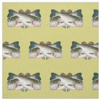 Bass Fish Fabric