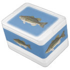 Bass Fish Igloo Can Cooler 12 or 24 cans Igloo Cooler