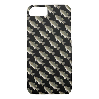 Bass Fish Pattern iPhone 7 Case