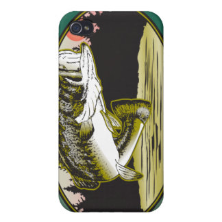 Bass Fishing 4  Cover For iPhone 4