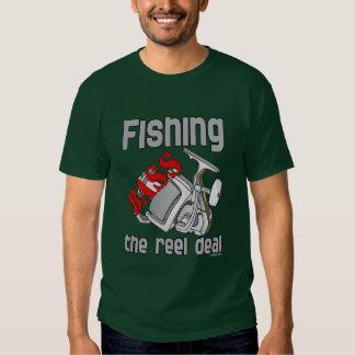 Bass Fishing The Reel Deal Tee Shirt