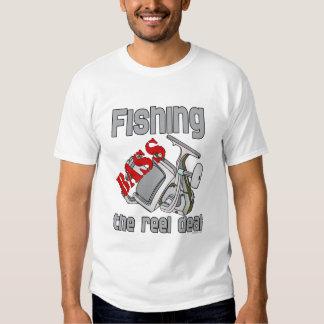 Bass Fishing The Reel Deal Tee Shirts