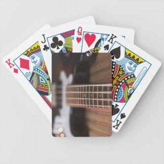 Bass Guitar 2 Bicycle Playing Cards