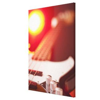 Bass Guitar 2 Canvas Print
