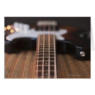 Bass Guitar 2 Card