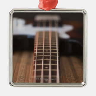 Bass Guitar 2 Christmas Ornament