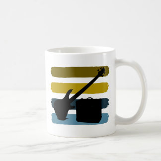 Bass Guitar and Amp Mug