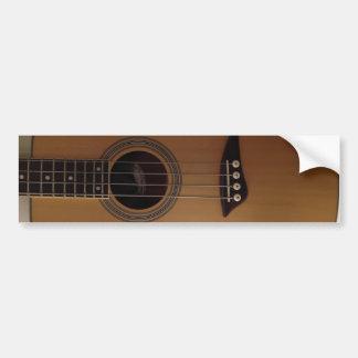 Bass Guitar Bumper Sticker