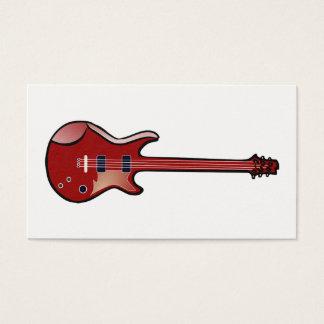 Bass guitar business card