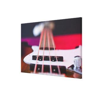 Bass Guitar Canvas Print
