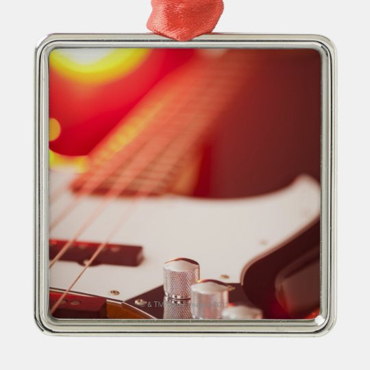 Bass Guitar Christmas Ornament