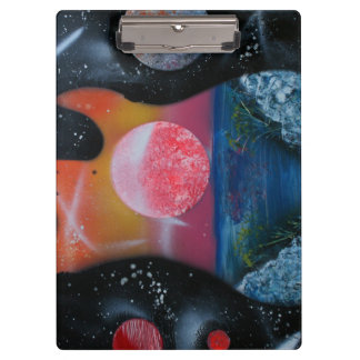bass guitar left tropical theme spacepainting clipboard