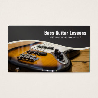 Bass Guitar Lessons and Music Instructors
