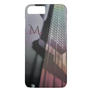 Bass Guitar Monogram Music iPhone 7 Case