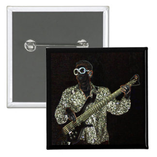 bass guitar music guy sound square button