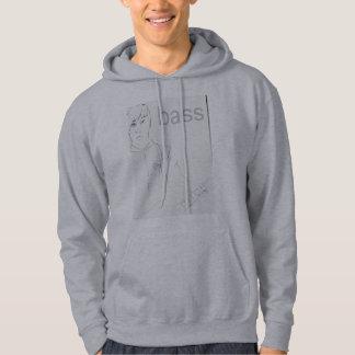 Bass guitar player hoodie