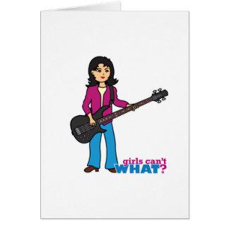Bass Guitar Player - Medium Cards