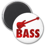 Bass Guitar Refrigerator Magnet