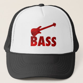 Bass Guitar Trucker Hat