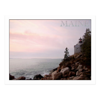 Bass Harbor Head Light, MAINE Postcard