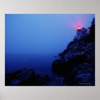 Bass Harbor Head Light, Mount Desert Island, Poster