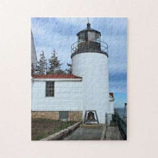 Bass Harbor Head Lighthouse, Maine Jigsaw Puzzle