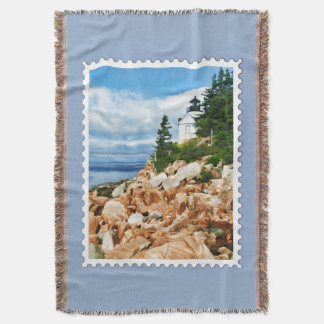Bass Harbor Lighthouse Acadia National Park  Stamp