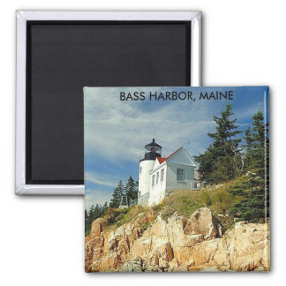 BASS HARBOR, MAINE MAGNET