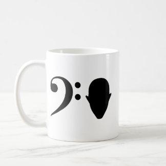 Bass Head Basic White Mug