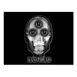 BASS HEAD Dubstep Artist Postcards