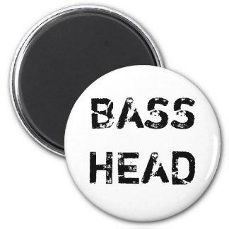 Bass Head magnet