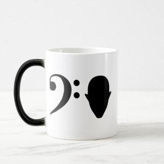 Bass Head Morphing Mug