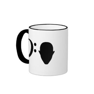 Bass Head Ringer Mug