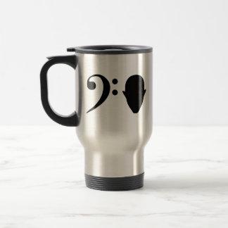 Bass Head Stainless Steel Travel Mug
