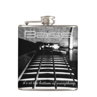 Bass Is At the Bottom of Everything Music Flask