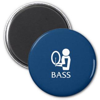 Bass Fridge Magnets