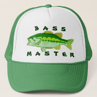 Bass Master Trucker Hat