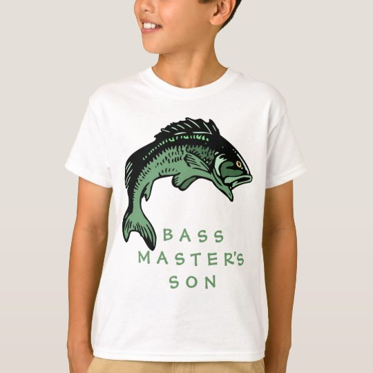 Bass Master's Son T-Shirt