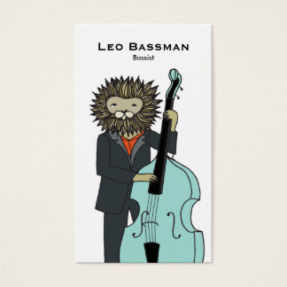 Bass Player Business Card