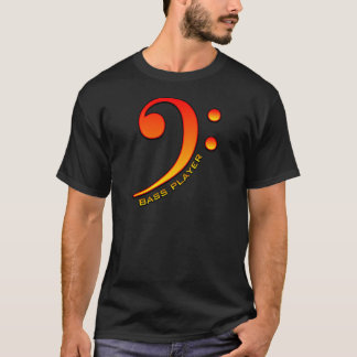 Bass Player (Clef) T-Shirt
